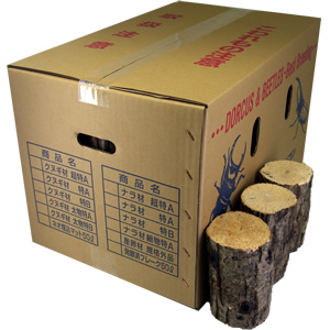 ナラ産卵飼育材 特A レギュラー箱(24〜48本入)