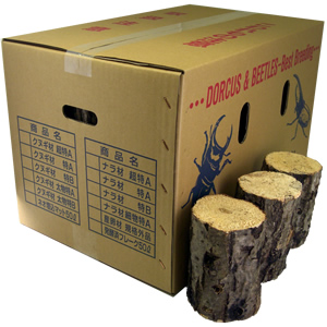 ナラ産卵飼育材 特B レギュラー箱(24〜48本入)