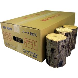 ナラ産卵飼育材 超特A ハーフ箱(12〜24本入)
