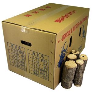 ナラ産卵飼育材 細物レギュラー箱(50〜100本入)