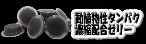 濃縮バナナブラックゼリーワイドS 500Pバルク